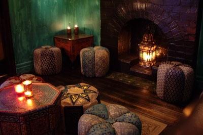 low tables, lanterns, & ottomans