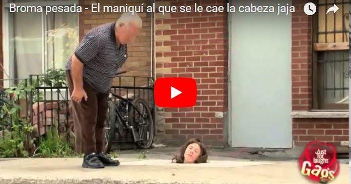 La broma de la Cabeza del Maniquí que cobra vida