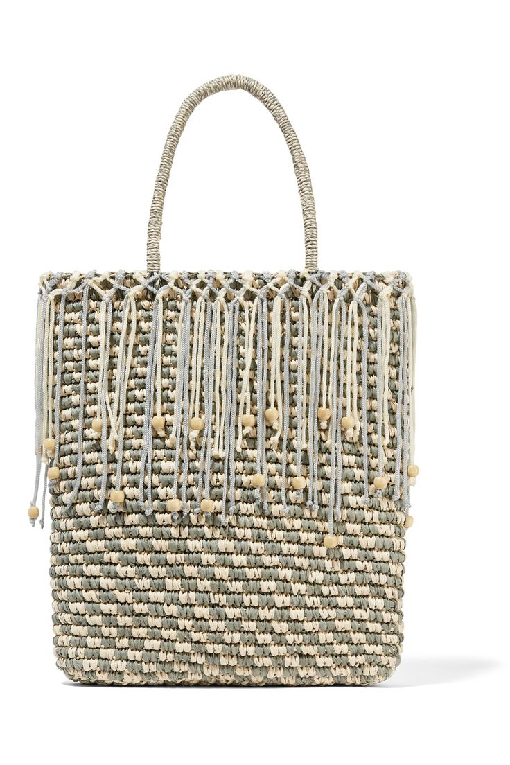 Shop on-sale Sensi Studio Trinado embellished woven toquilla straw tote . Browse other discount designer Totes & more on The Most Fashionable Fashion Outlet, THE OUTNET.COM