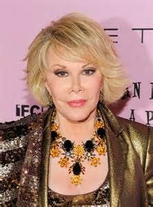 Joan Rivers in her jewelry