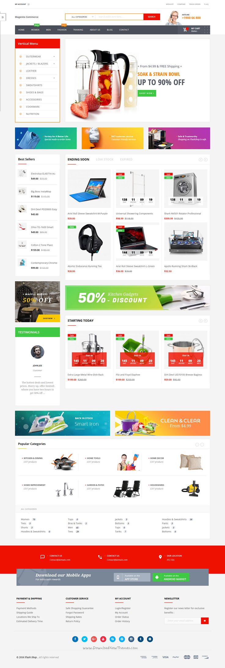 Flashshop is awesome 6 in 1 #Magento 2 theme for multipurpose #electronic #store eCommerce website download now➯ https://themeforest.net/item/ves-flashshop-magento-2-responsive-template/16862663?ref=Datasata