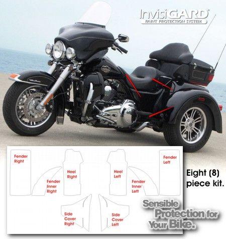 Harley Davidson Tri Glide Ultra Classic Invisigard