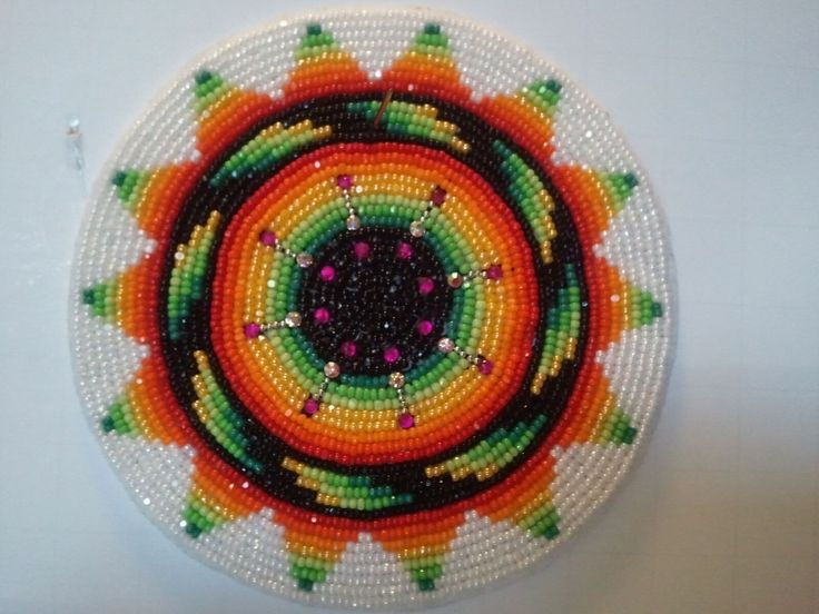 Native American Beadwork For Sale Medallion By Gen
