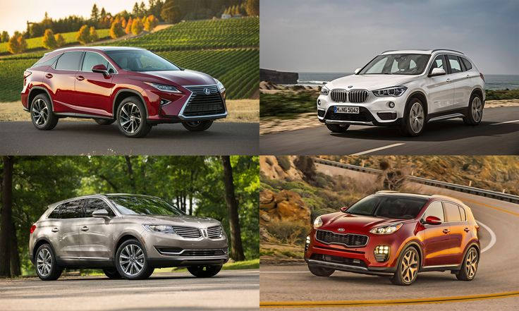 The top-rated SUVs, according to the Insurance Institute for Highway Safety.