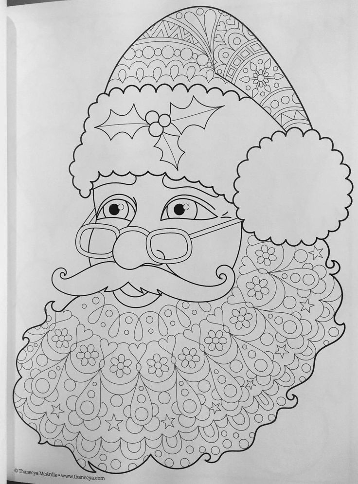 Christmas Coloring Book (Coloring Is Fun): Thaneeya McArdle: 9781497200807: Amazon.com: Books