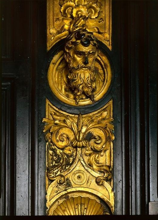 "thegildedrage: ""One of the many figures on Lorenzo Ghiberti's Gates of Paradise in Florence. """