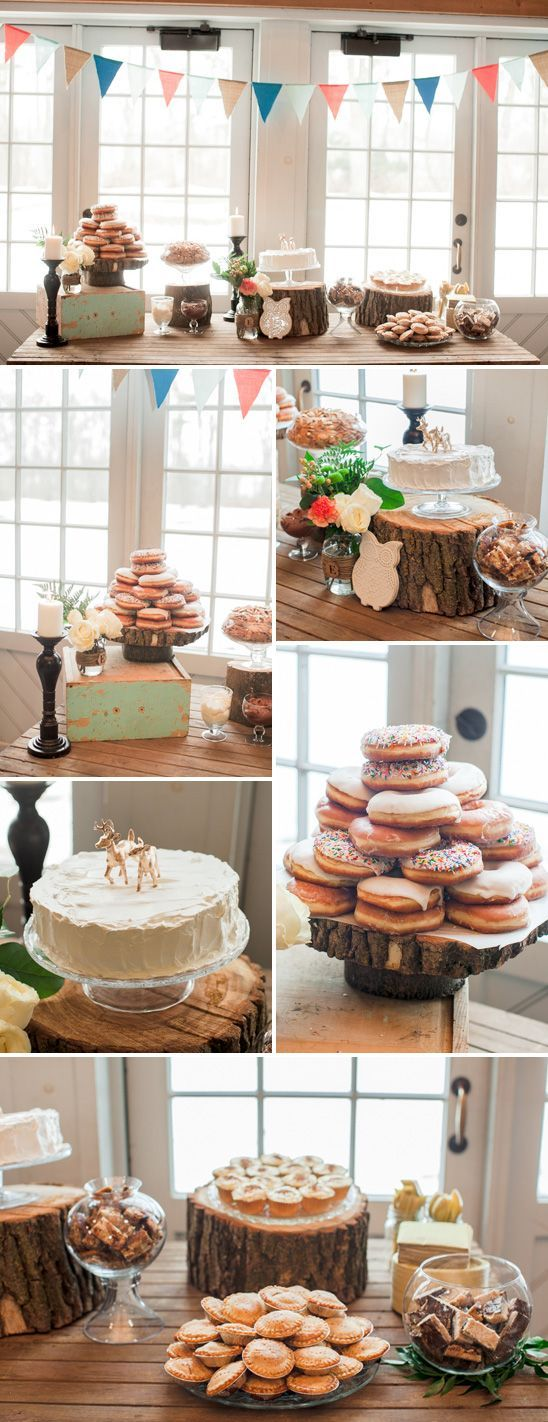 Beautiful Woodland Themed Baby Shower. Someone have a baby!! (@Kristin Newman ?!?!)