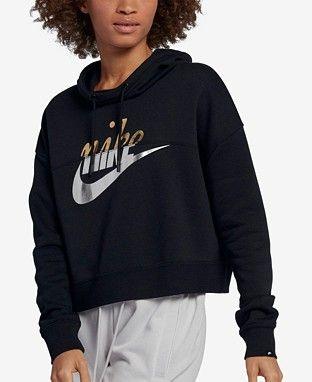 dc54ffc63992 Nike Christmas Gifts For Active Women - Macy s l Nike Sportswear Rally  Metallic-Logo Fleece