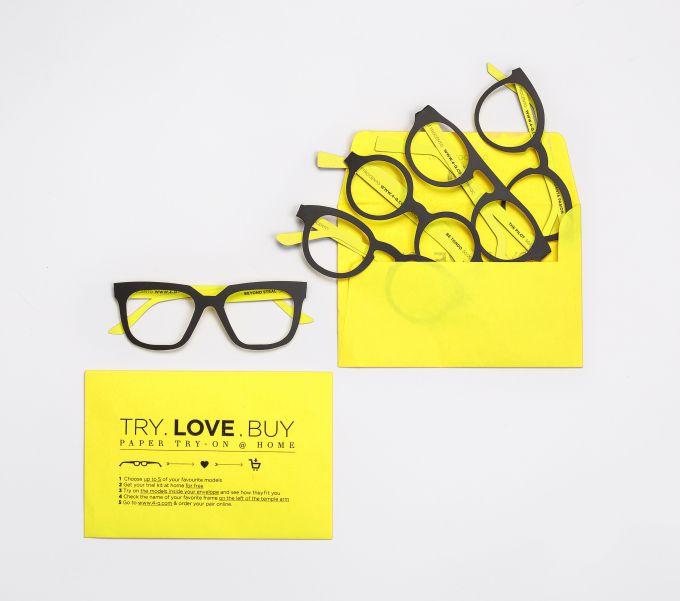 Italian eyewear startup Quattrocento offers paper try-on service #Startups #Tech