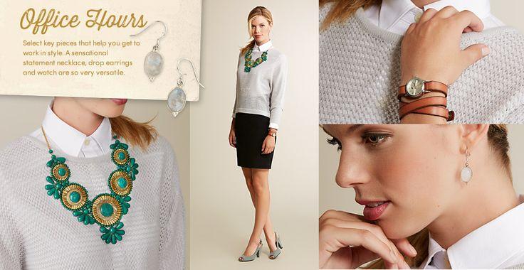 5 Jewelry Styles: Office Hours via Cost Plus World Market >> #WorldMarket Fashion