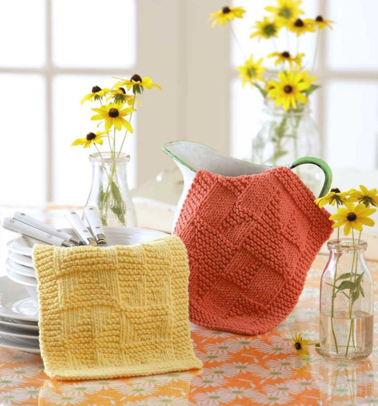 Knit Dishcloths from Leisure Arts. Find it here…