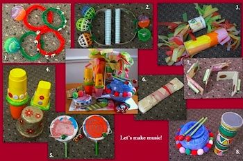 Tons of instructions for homemade musical instruments. #Recycle #Music