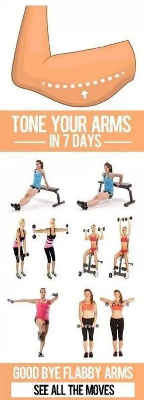 Tone your arms in 7 days   Posted By: AdvancedWeightLossTips.com