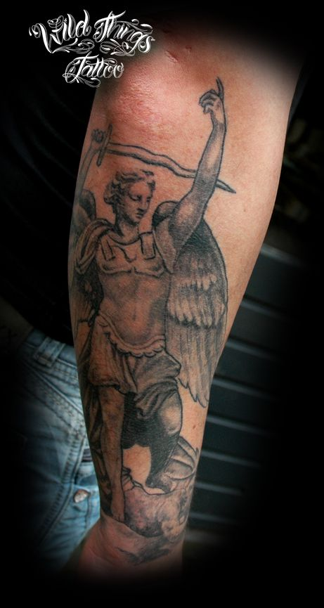 17 best ideas about saint michael tattoo on pinterest for Tattoo shops in stl