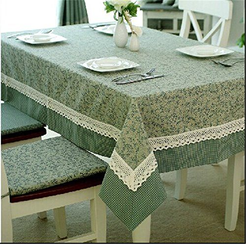 SNW Pastoral Style Cotton Tablecloths Rectangle Tablecloth Shopping New  World Http://www.