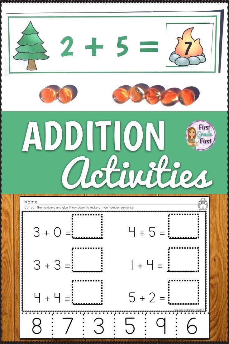 Introducing Addition To Your Kindergarten Class Make Teaching These Strategies Simple With These Printables A Teaching Blogs Fun Worksheets Elementary Reading Introducing addition in kindergarten