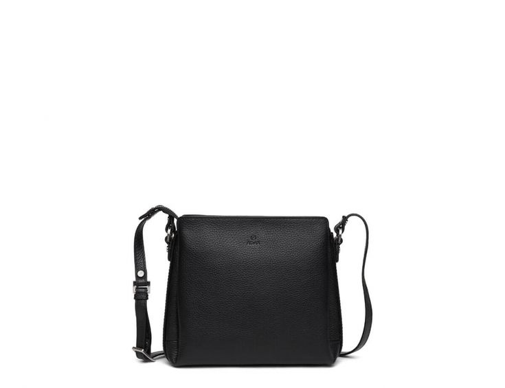 Sia Shoulder bag From Adax in Black Cormorano Leather