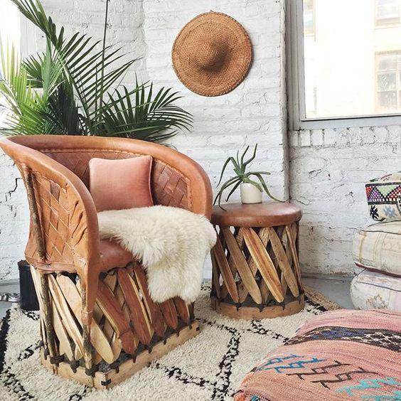 Handmade Mexican furniture