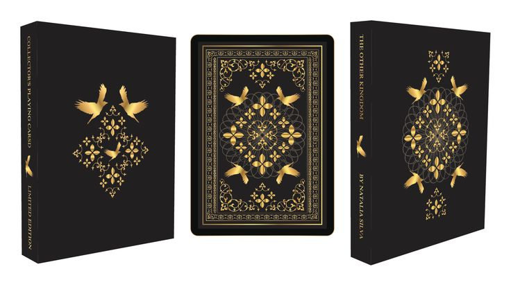 """THE OTHER KINGDOM"" Collector's Playing Cards by Natalia Silva — Kickstarter"