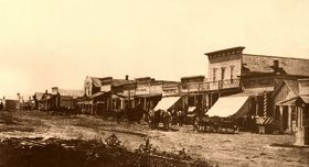 Legends of Kansas website:  History, Tales, & Destinations...great site (pictured Dodge City circa 1876)