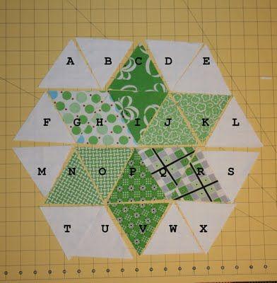 Six Pointed String Star Block Tutorial Summer Sampler
