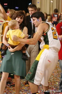 Nathan Scott & Haley James with Jamie, NBA, OTH