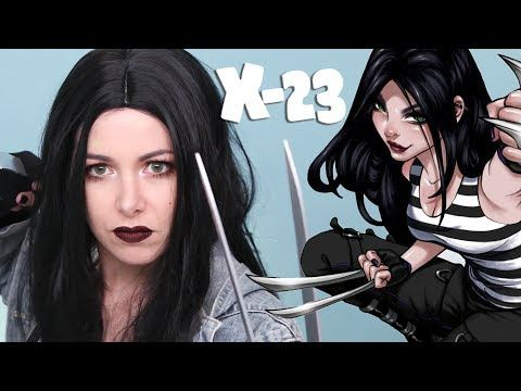 X-23 CLAWS AND COSPLAY TUTORIAL ❤ EASY COSPLAY - YouTube