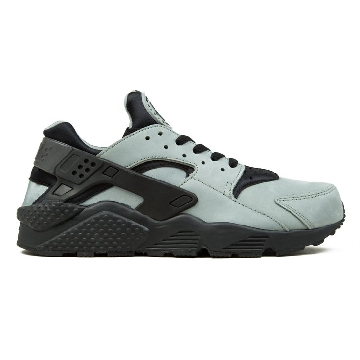 Buy Nike Air Huarache Run Premium running shoes in Mica Green/Black.