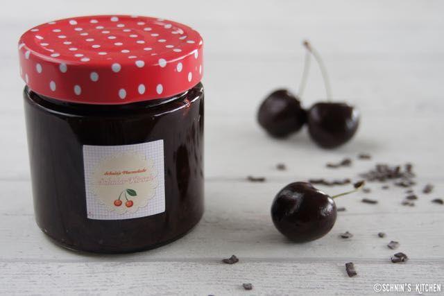 Schnin's Kitchen: Schokoladen-Kirsch-Marmelade