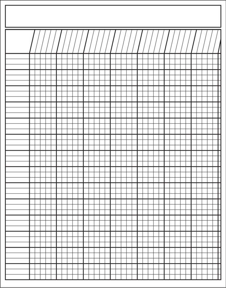 "Our White Vertical Charts measure 22"" x 28"" and have 35 rows across and 42 rows down. The squares are 1/2"" x 1/2"" and fit our Stickers and Incentive Stamps. Every other line is shaded, which makes the"