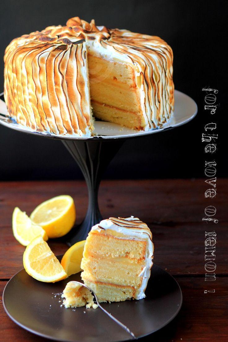 Triple layer cake citronné et des présentoirs à gateaux home made!   Rdv aux mignardises