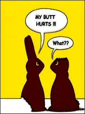 Easter appropriate! I know I have this card somewhere!!!!!  HAHAHA!,