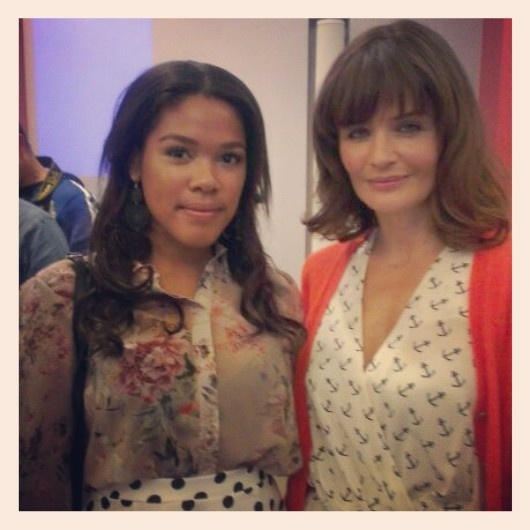 Yesterday I was at the exclusive launch of 'Selected by Helena Christensen'! #specsavers #fashion #dulceelisa #topmodel #celebrity