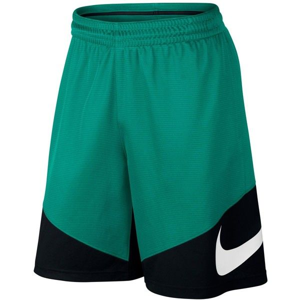 Nike Men's Hbr Dri-fit Basketball Shorts ($30) ❤ liked on Polyvore featuring men's fashion, men's clothing, men's activewear, men's activewear shorts, rio teal, mens activewear shorts and mens activewear