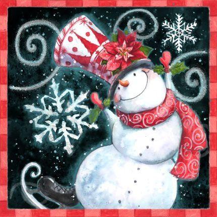 Snowman, Nice