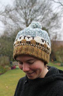 Baa-ble Hat by Donna Smith. Shetland Wool Week