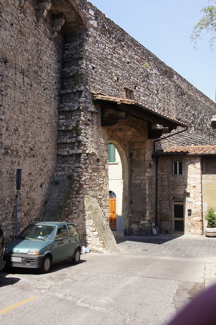 Prato, Italy - Town walls and gate