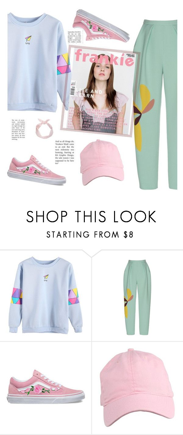 """""""All Patched Up: Patchwork"""" by zzzombie ❤ liked on Polyvore featuring Vans"""