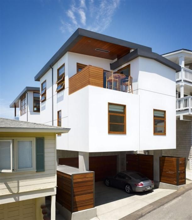 Exotic Exterior   Minimalist Home Design Show Features Exist With Small  Loft Garden
