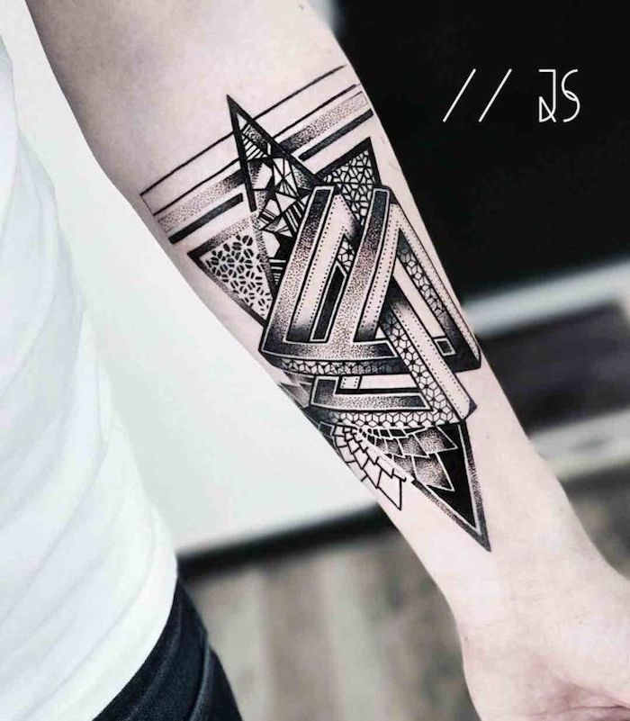 1001 Ideen Und Bilder Zum Thema Geometrische Tattoos