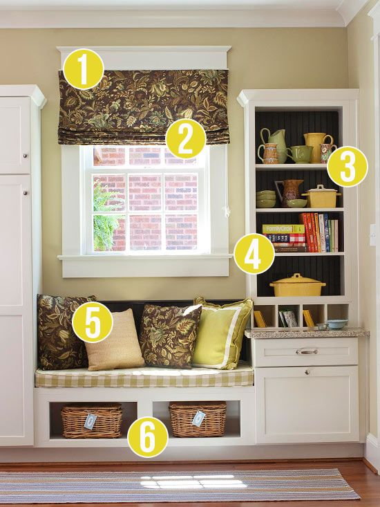 Get This Look - 6 Tips for a Built-in Drop Zone from Remodelaholic.com #getthislook