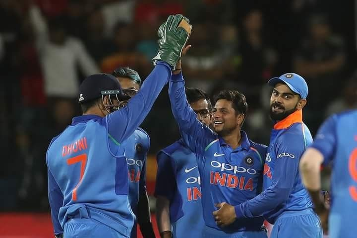 HISTORY created!  #TeamIndia's first bilateral ODI series win in South Africa!