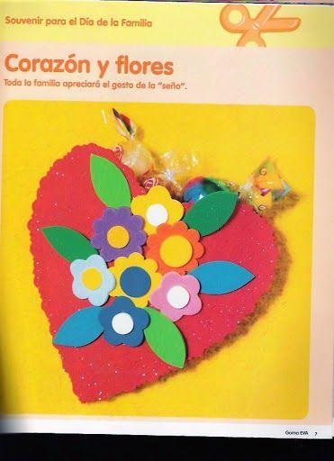 Revistas de Foamy gratis: revista dia dela familia manualidades