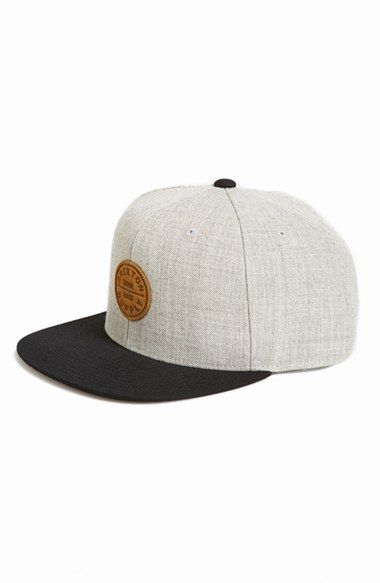Brixton+'Oath+IV'+Snapback+Cap+available+at+#Nordstrom