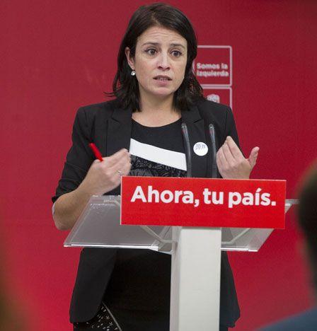 La dos del PSOE compara a Rivera con José Antonio aunque luego lo retira