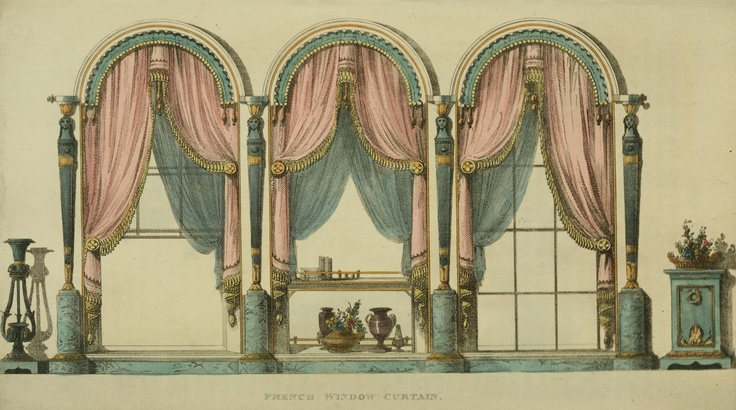 Regency Furniture 1809 -1815: Ackermann's Repository Series 1