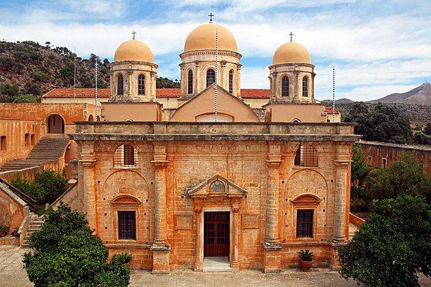 The Monasteries of Akrotiri Peninsula-Chania