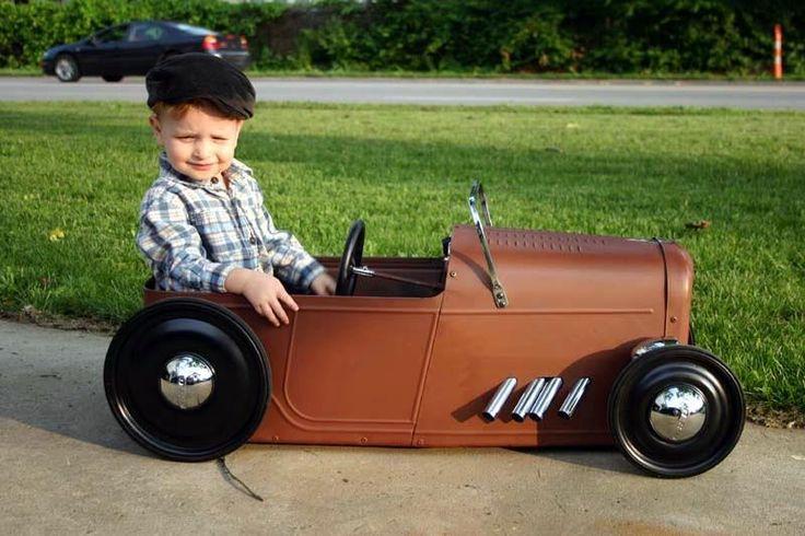 Hot Rod Pedal Car Rust