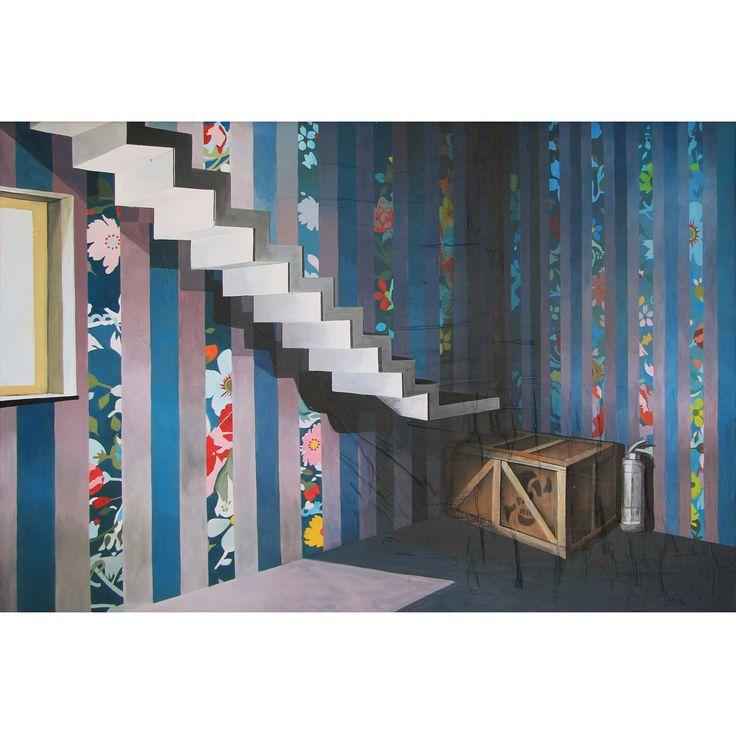 RECOVERY ©2014, acrylic on canvas, 120 x 80 X 2 cm / 47.28 x 31.52 X 0.78 inch  #SCENOGRAPH2ART #GaeTanoAndValentina #Sem #scenographTwoArt #painting #FineArt #Arte #فن #Kunst #艺术 #AcrylicOnCanvas #искусство #acrylic #アート #pittura #peinture #GaeTanoeValentina #azzurro #Blu #Ceruleo #ScenographTwoArt