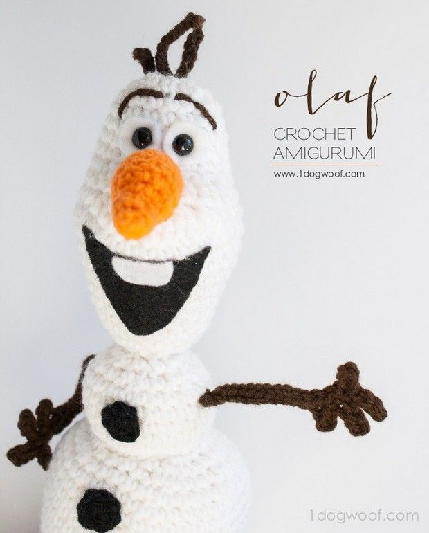 The endearing character from 'Frozen' brought to crochet life! Yes, this is …